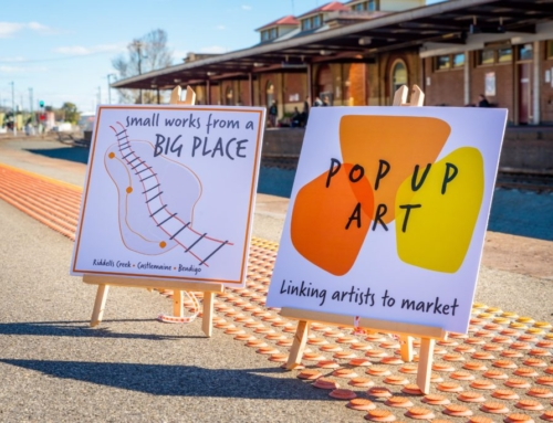 Central Victorian Artists – get on board!: Pop Up Art
